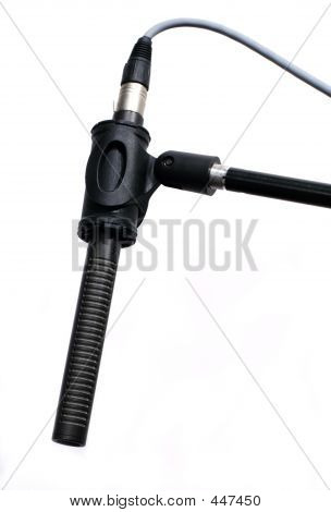 Boom Microphone In Studio