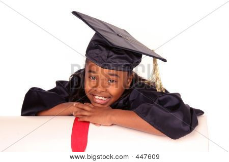 Resting On Her Diploma