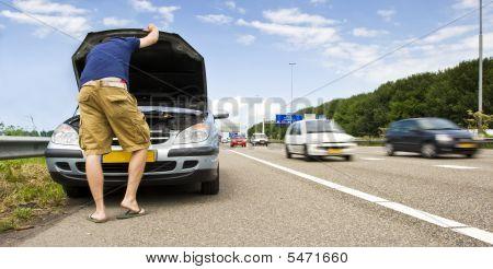 Mortorway Car Trouble