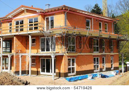 Bare brickwork