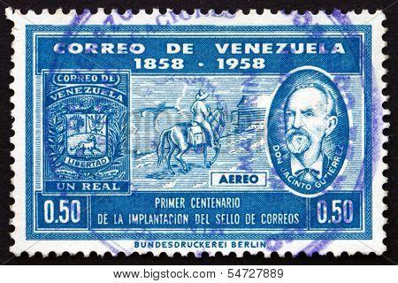Postage Stamp Venezuela 1959 Don Jacinto Gutierrez