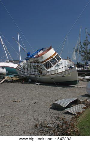 Katrina Flood Boats