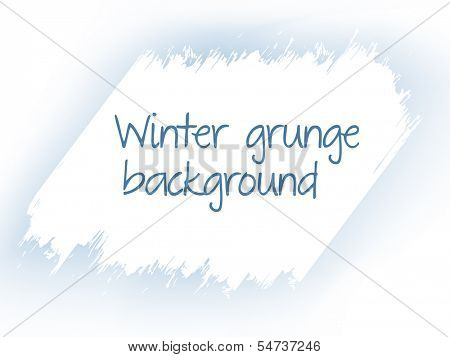 Diagonal scraped ice grunge background