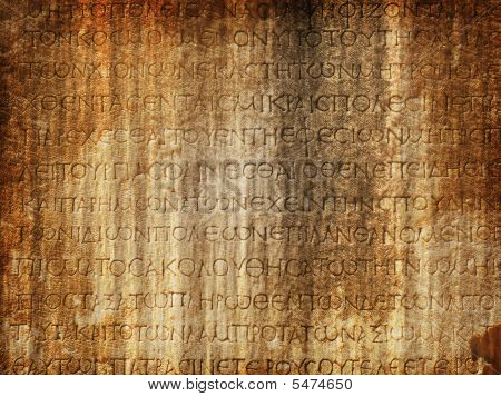 Layered Ancient Text Background