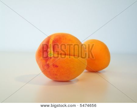 Two Golden Apricots