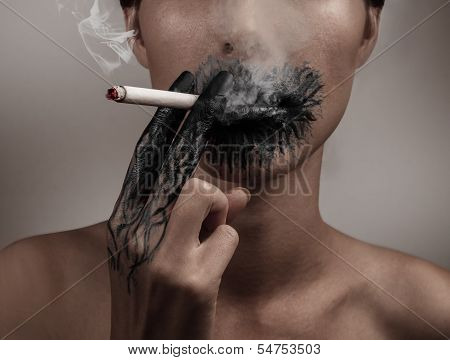 Combustion From Smoking