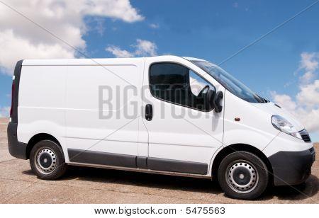 Small White Van