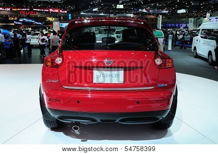 Bkk - Nov 28: The New Nissan Juke, Cross Over Car, On Display At Thailand International Motor Expo 2