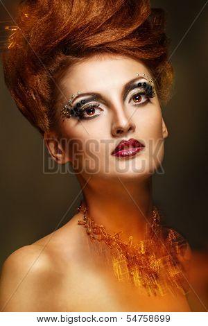 Beauty Portrait Of Girl