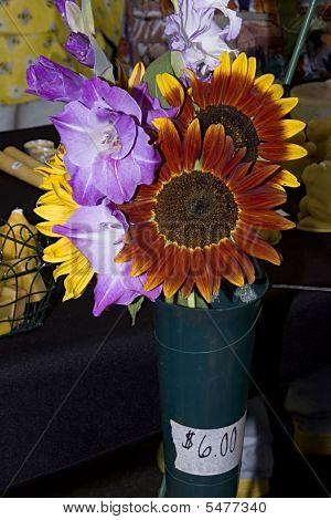 Farmers Bouquet Of Flowers