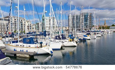 Sutton Harbour Marina Plymouth