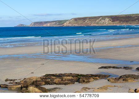 Whitesands Bay Sennen Cove Cornwall