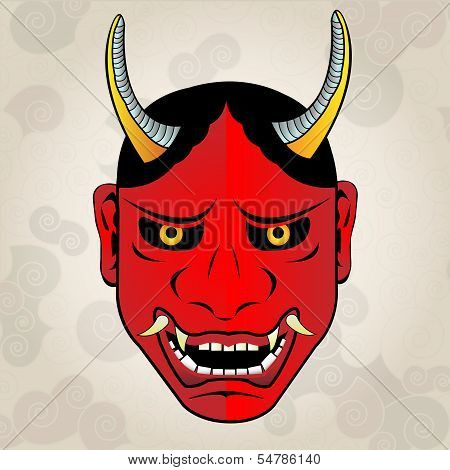 Hannya mask, japanese tattoo