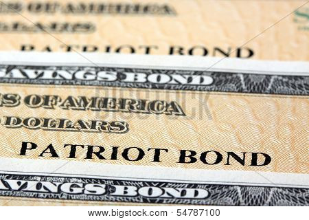United States Treasury Savings Bonds - Financial Security poster