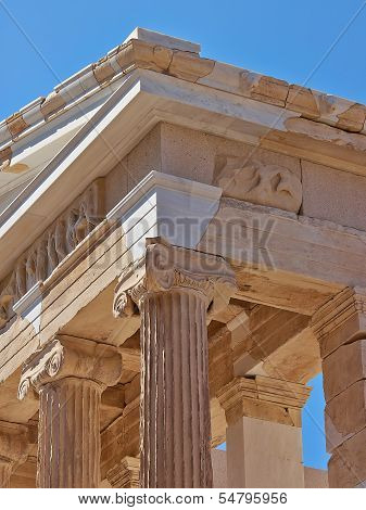 Temple of Athena nike Acropolis of Athens