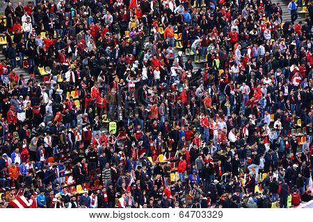 Fans Of Dinamo Bucharest Football Club