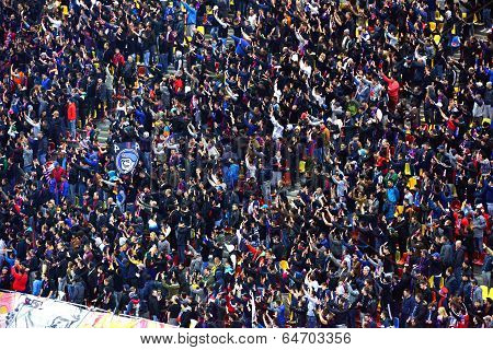 Football Hooligans Of Steaua Bucharest