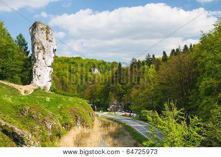 Maczuga Herkulesa, Rock In National Ojcow Park, Poland
