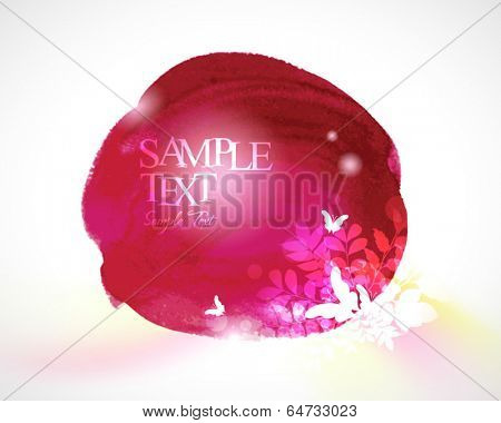 Abstract stylish watercolor background 07