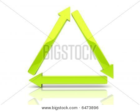 Arrows Triangle