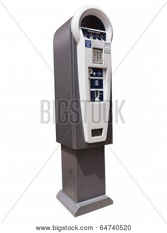 Parking meter machine