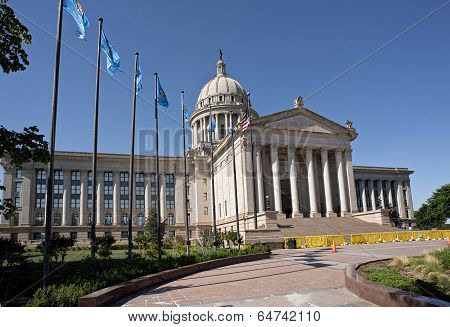 Oklahoma State Capital Building.