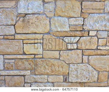 stone wall closeup natural background