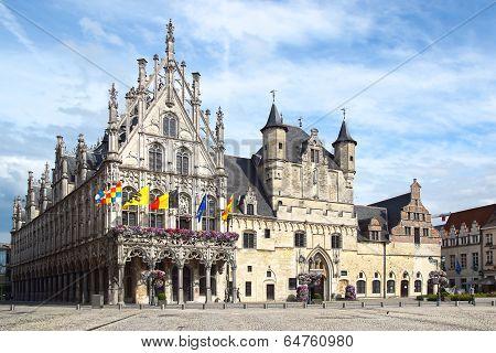 Stadhuis, Mechelen Town Hall.
