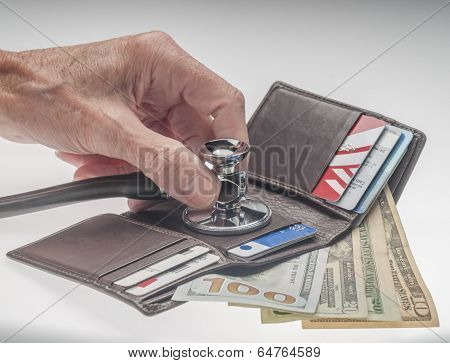 Checking cost of health care or the economy