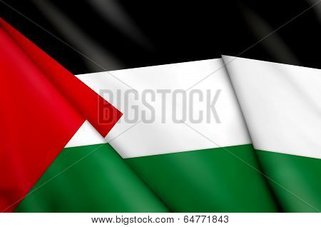 Flag Of Palestinians
