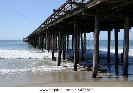 Pier on Monterey Bay