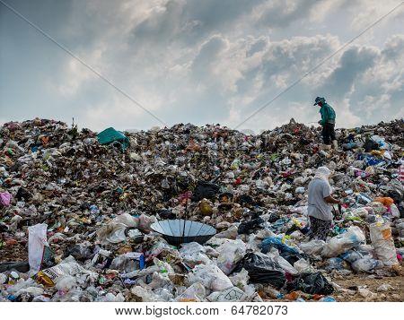 Landfill in Thailand