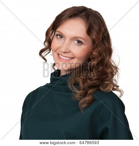 Portrait Of A Happy Young Business Woman