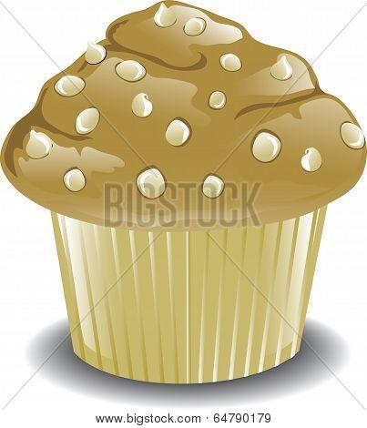 White Chocolate Muffin