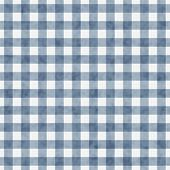 Blue Gingham Pattern Repeat Background that is seamless and repeats poster