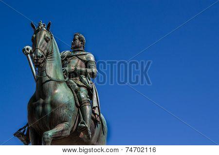 Monument To Grand Duke Ferdinando I In Florence
