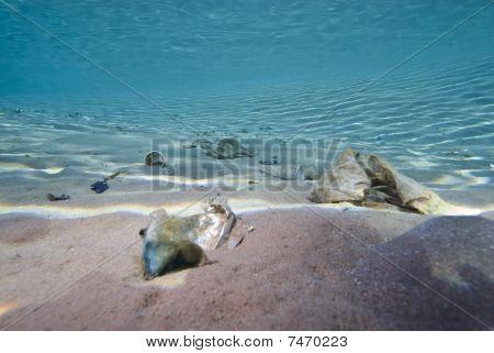 Garbage On The Sea Floor.
