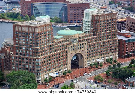 Rowes Wharf, Boston, USA
