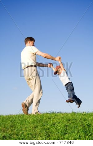 Play with father