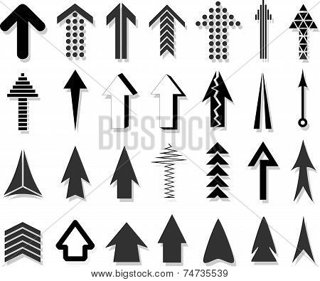 Different Arrows