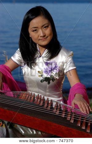 Asian Female Musician