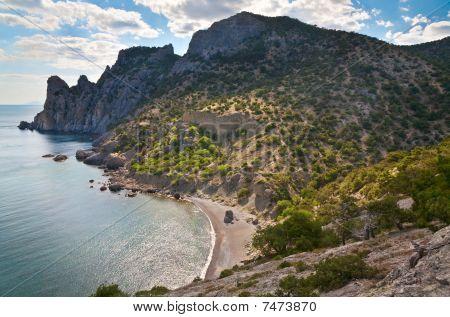 Rocks Sea Landscape