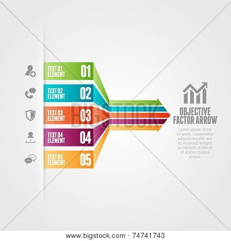Objective Factor Arrow