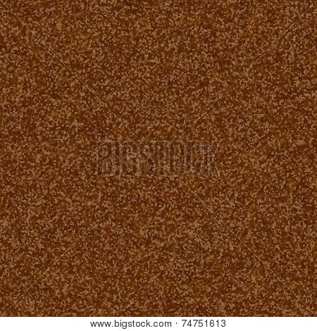 Brown tile able rusty metal sheet pattern poster