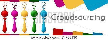 Crowdsourcing Human Colorful Row