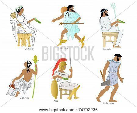 Ancient greek gods and goddesses