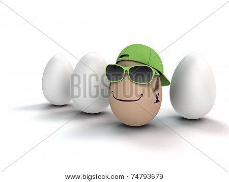 the coolest egg of all