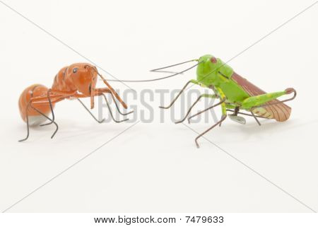 Grasshoppers And Ants Fantasy