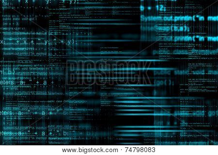 Abstract Computer Code Background