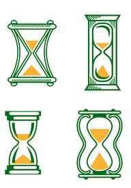 Vintage hourglasses